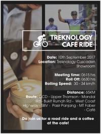 Treknology Cafe Ride: Monument Lifestyle