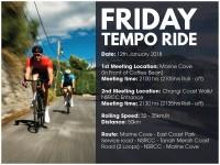 Friday Tempo Ride