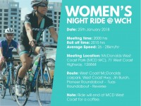 Women's Night Ride @ West Coast Highway
